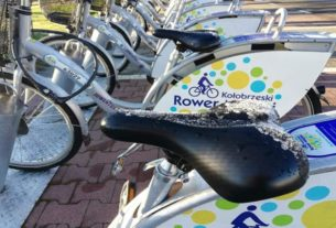 Rowery miejskie w Kołobrzegu